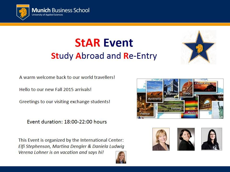 Study Abroad and Re-Entry 2015