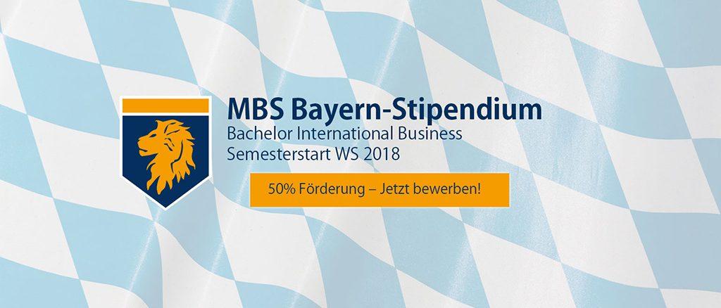 MBS Bayern-Stipendium