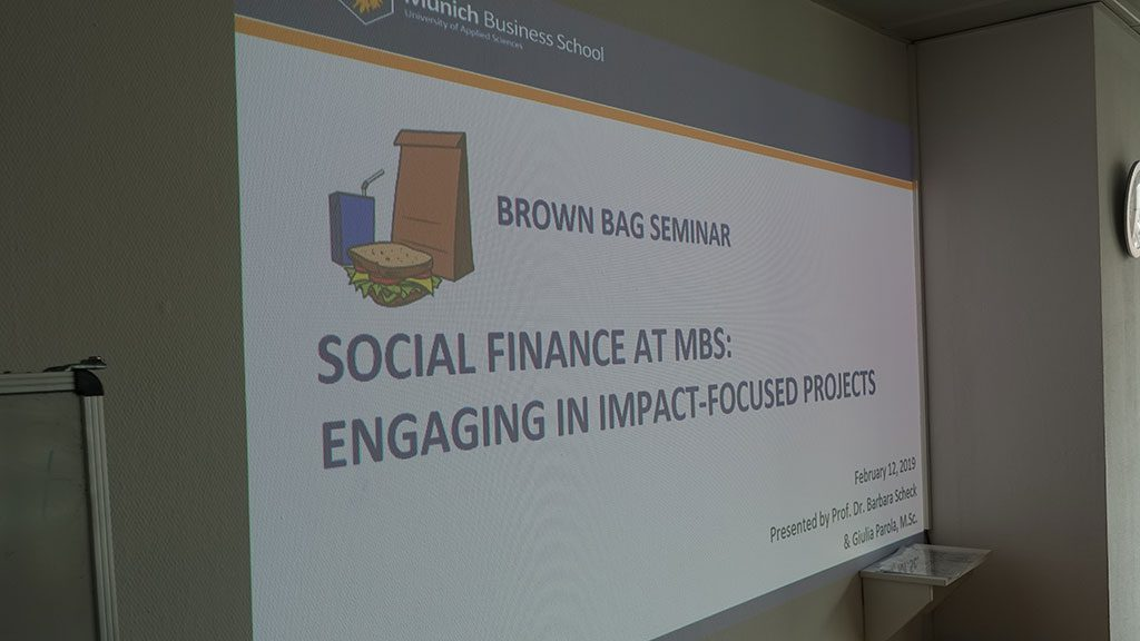 MBS Brown Bag Seminar Scheck