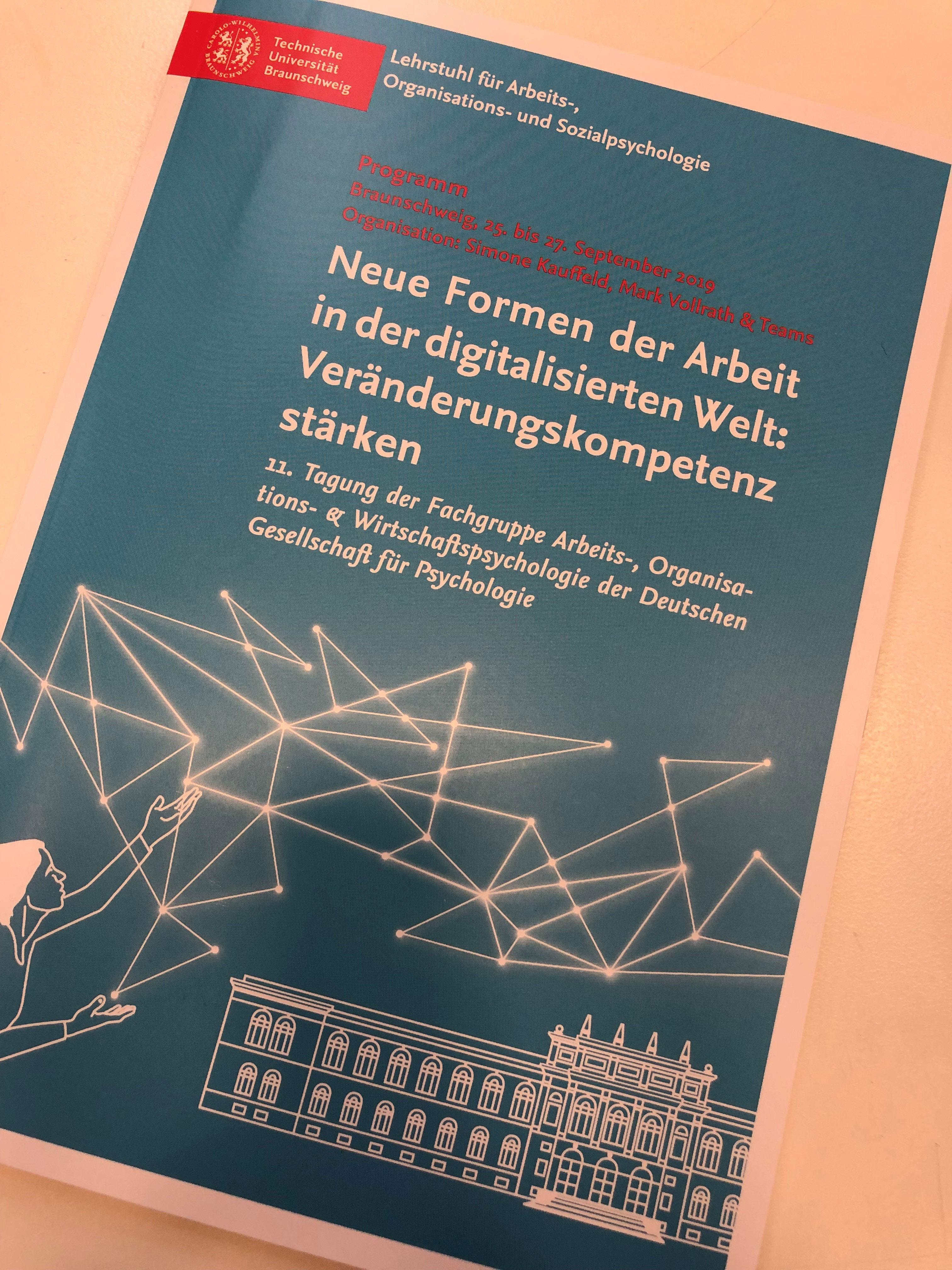 Tagung der Fachgruppe Arbeits-, Organisations-, und Wirtschaftspsychologie der Deutschen Gesellschaft für Psychologie