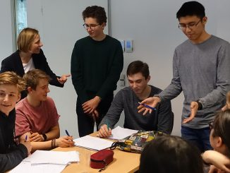 Students apply the basics of project management to their own project ideas