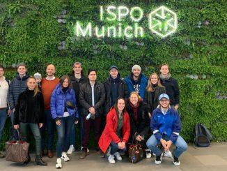 SBC-Studierende auf der ISPO 2020