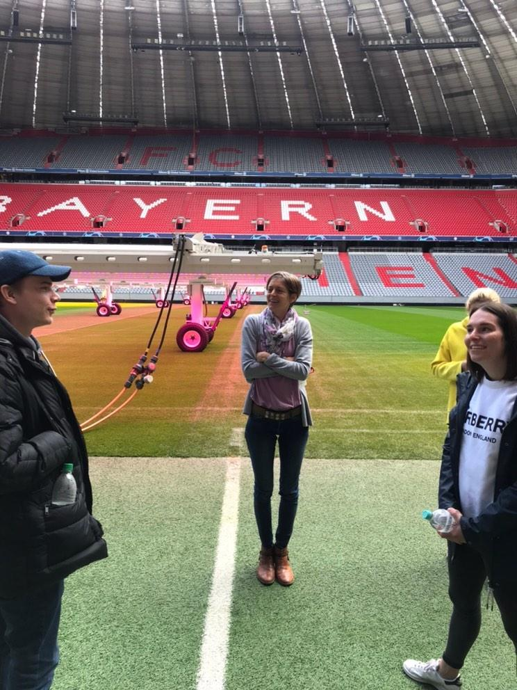 Study Trip to Allianz Arena