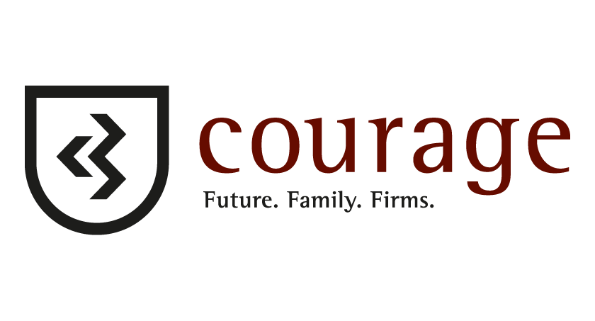 Courage Logo Family Businesses