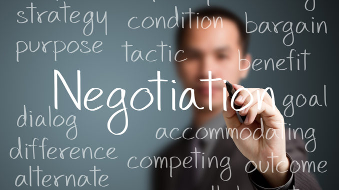 Online Negotiation
