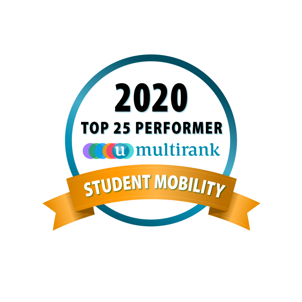 Top 25 Performer Student Mobility