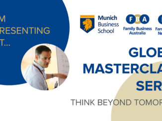 Global Masterclass Series Family Business Australia and New Zealand