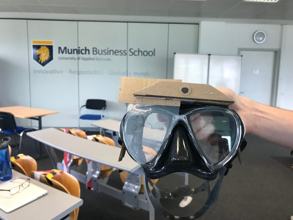 Prototyping Smart Dive Mask