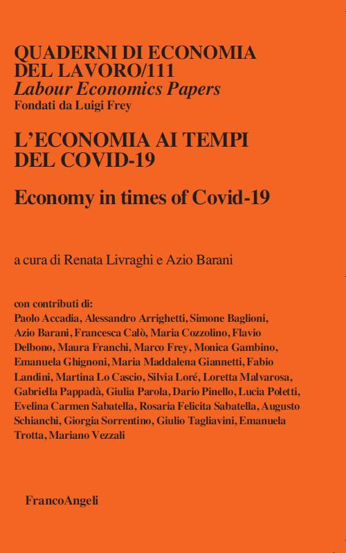 Quaderni di Economia del Lavoro Cover
