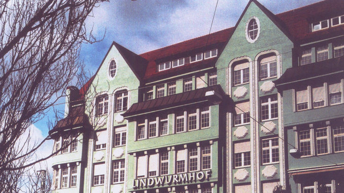The former MBS campus in Lindwurmhof