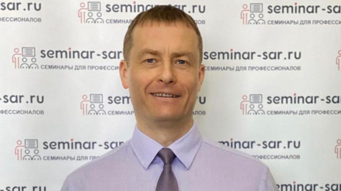 Sergey Semenov Portrait