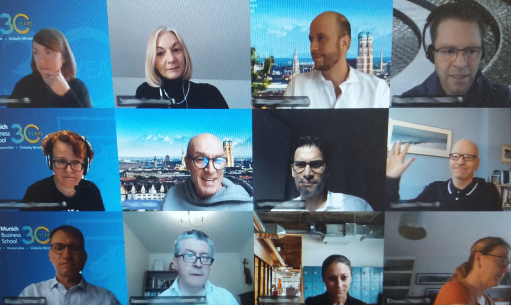 Participants of the second virtual MBS Doctoral Conference