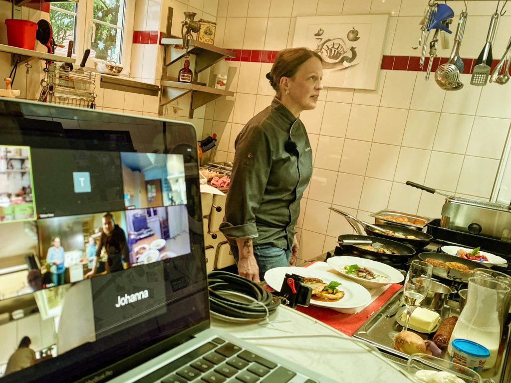 Live Online Cooking Event with Gasthof Hack