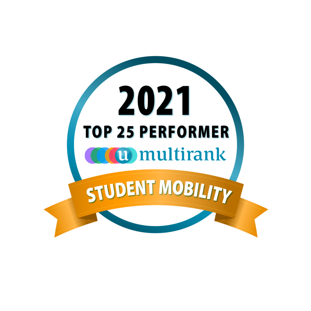 Global Top 25 Perfomers Student Mobility Badge