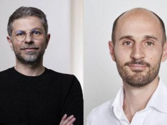 Portraits of Patrick Löffler and Rupert Schäfer