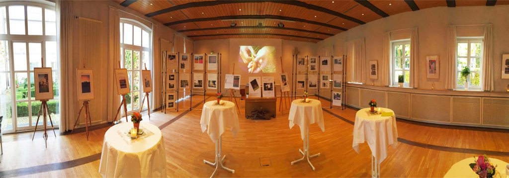 Ausstellungsraum der St. Anna Kirche | Exhibition room in the St. Anna church