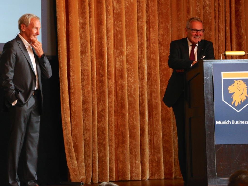 Prof. Dr. Herbert Henzler, Dr. Rudolf Gröger