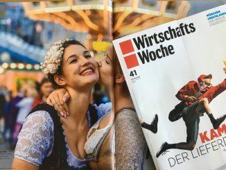 Wirtschaftswoche 41/30.09.2016 page 82/83 + title